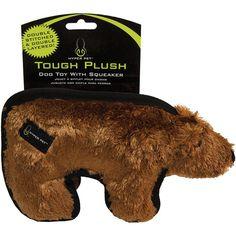 Hyper Pet Tough Plush Animal 10-Brown Bear - brown bear
