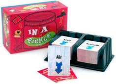 in a Pickle (card game) by Gamewright, ISBN: 9781888439878 3rd Grade Games, Cool Toys, Pickles, Card Games, Play, Cards, School, Ideas, Maps