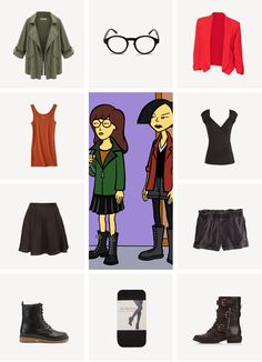 diy halloween costumes - daria & jane