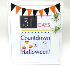 Fun! Count down to Halloween from Smart School House