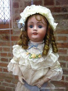 Куклы и кружево. Еще немного о куклах для Виктории / Винтажные антикварные куклы, реплики / Бэйбики. Куклы фото. Одежда для кукол
