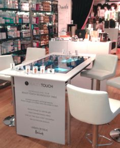 Beauty Touch at Harrod's - Leveraging Microsoft surface technology
