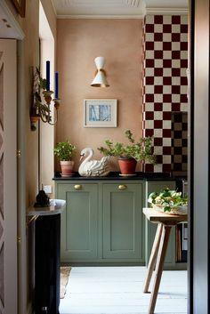 Matilda, Manchester Home, Home Interior, Interior Design, Interior Shop, Checkerboard Floor, Mad About The House, Design Apartment, 3d Home