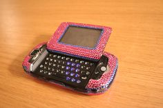 Phone charms and bedazzling were seen as valid forms of personalization. Flip Phones, New Phones, Kids Play Area Indoor, Nintendo Switch Accessories, Vintage Phones, Old Phone, Camera Phone, 2000s, Kids Playing