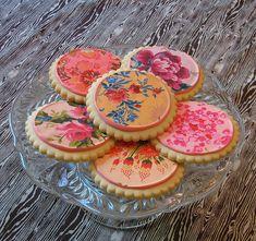 English Garden Cookies