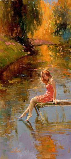Warm reflection by Irene Sheri , from Iryna