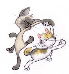 Kitty Dance by ShoJoJim on deviantART