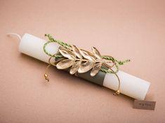 Lambada easter, lambathes, easter candle. gold leaf easter candle, lambatha, greek easter candle,lambathes easter, palm Sunday candle