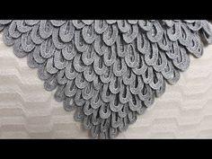 Tığ İşi Gelin Şalı Yapılışı - YouTube Crochet Box, Crochet Owls, Crochet Motif, Irish Crochet, Crochet Shawl, Crochet Flowers, Crochet Stitches, Knit Crochet, Crochet Patterns