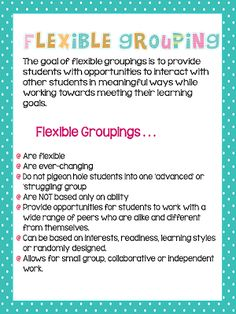 Assessment and Grouping: Chapter 2 of The Next Step
