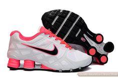 03db3672e2c Nike Shox Turbo12 red gray white Womens Nike Shox Shoes