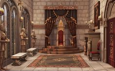 Medieval Throne Room