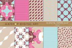 Check out Digital Papers-Kiss by Maishop Digital Art on Creative Market