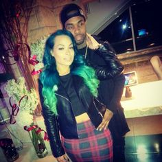 Heather Sanders and KingTrell