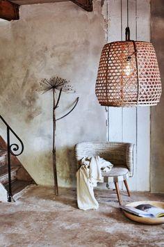 Trend DIY gevlochten hanglamp