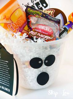 """""""You've been booed"""" is a Halloween activity that became one of our most loved Halloween traditions when our kids were younger. Halloween Traditions, Halloween Activities, You've Been Booed, Halloween Boo, Our Kids, Container, Printables, Children, Fun"""
