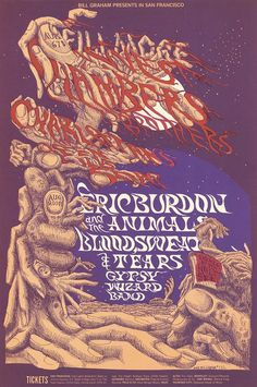 Chambers Brothers, The Charlatans, Queen Lily's Soap, Eric Burdon and the Animals, Blood, Sweat and Tears, The Gypsy Wizard Band - Lights by...