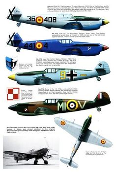 Other Air Force users, captured aircraft, Avia and Hispano Ww2 Aircraft, Fighter Aircraft, Military Aircraft, Fighter Jets, Luftwaffe, Air Force, Me 109, Aircraft Painting, Ww2 Planes
