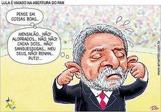 Brasil-Lula-2007-Charge-PAN-Lula é vaiado na abertura do PAN-Charge de Amarildo