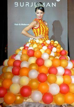Risultati immagini per BALLOONS DRESS