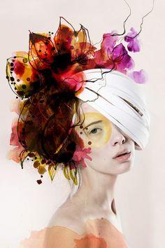 Ekaterina-Koroleva. #art #Self #creative #collage #photography #face