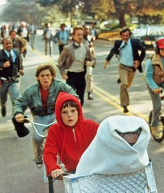 *E.T. the Extra Terrestrial (1982) - A boy meets an alien and tries to help him to get home.
