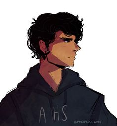 I will never stop drawing Percy.
