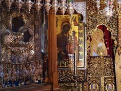 Pilgrimage Tour to the Holy Mountain of Mount Athos day) The Holy Mountain, Hail Mary, Blessed Virgin Mary, Mother Mary, Pilgrimage, Holi, Photo Wall, Fair Grounds, Tours