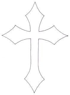 Cross Tattoo Stencils