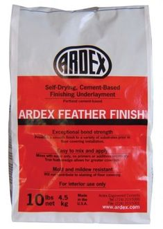 Amazon.com: 10 Lb Ardex Self-Drying Cement Based Feather Finish ARFF- lay a thin layer of concrete over the bathroom tile.