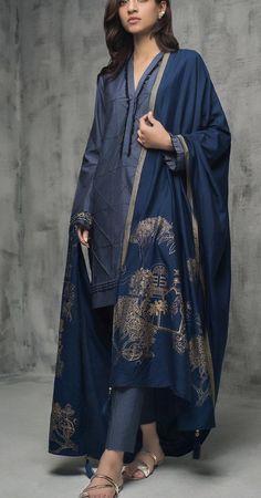 How To Wear Kimono In Winter Fashion Show Trendy Ideas Pakistani Dresses Casual, Pakistani Dress Design, Indian Dresses, Indian Outfits, Stylish Dresses, Simple Dresses, Nice Dresses, Casual Dresses, Fashion Dresses