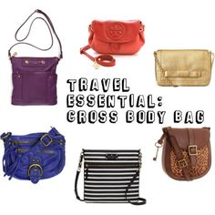 Travel Essential: Cross Body Bag