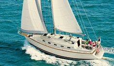 Island Packet Yachts: Unique custom yacht designs, superior construction, and detailed features that meet the demands of sailing offshore in safety, comfort, and luxury for enjoyable weekending and coastal cruising. Small Sailboats For Sale, Boat Brands, Jewel Of The Seas, Yacht Design, Sailing Ships, Sailing Yachts, Luxury Travel, Nautical, Coastal
