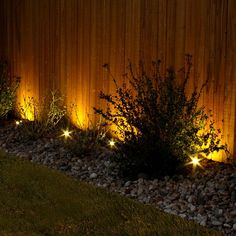 we have prepared for you an exquisite collection of Garden Fence Lighting Ideas That Will Make Your Garden Shine. So get prepared for the upcoming lovely Outdoor Garden Lighting, Fence Lighting, Landscape Lighting, Lighting Ideas, Backyard Fences, Front Yard Landscaping, Landscaping Ideas, Diy Exterior Lighting, Decorative Garden Fencing