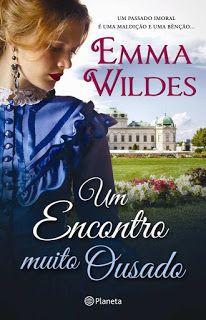 Livros e marcadores: Passatempo: Um encontro muito ousado de Emma Wilde...