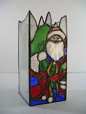 stained glass santa | eBay