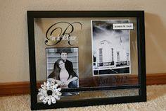 Craft of the Week: Floating Frame Wedding Gift Idea