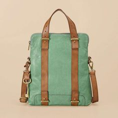 Well hello beautiful leather bag in the most perfectly perfect of spring colors...