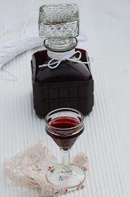 Apetyczna babeczka-Anielska Kuchnia: Nalewka z tarniny, tarninówka Irish Cream, Vodka, Perfume Bottles, Chocolate, Drinks, Beauty, Food, Recipes, Drinking