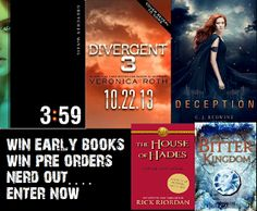 Win ARC copies of Allegiant by Veronica Roth and more! http://www.lindsaycummingsblog.blogspot.ca/2013/05/a-new-arc-giveaway.html?m=1