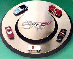 Hallmark 2003 Join The Caravan Corvette Christmas Ornament