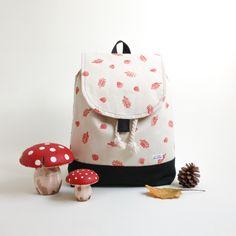 Minipicnic, handprinted Textile Design, Textiles, Backpacks, Mini, Bags, Fashion, Oak Tree, Handbags, Moda