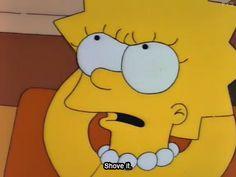 Preach it, Lisa Simpson