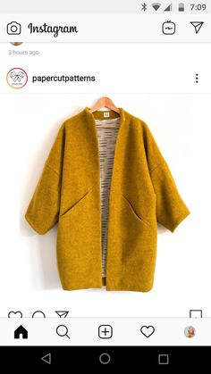 That colour! So in love with this Sapporo Coat by Made in the most beautiful wool fleece and… Sewing Clothes, Diy Clothes, Mode Style, Style Me, Beautiful Outfits, Cute Outfits, Fashion Outfits, Womens Fashion, Fashion Coat