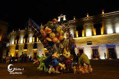 Globero y Palacio de la Corregidora, Querétaro, México