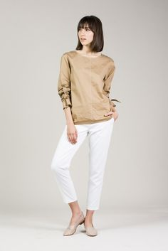 Edith Pullover Shirt by Yune Ho #kickpleat