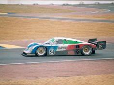 1992 Cougar C 28 LM  Porsche (5.100 cc.) (T)  Bob Wollek  Henri Pescarolo  Jean-Louis Ricci