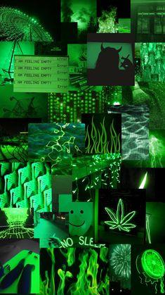 Green aesthetic 💚 #green #aesthetic #background #lights #dark #wallpaper  #freetoedit