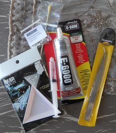 Hot Fix FlatBack Swarovski Rhinestones, Crystal Beads, Pearls : Flat Back Rhinestone Starter Kit w/out the Color Chart