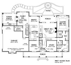 Eplans House Plan: This Attractive Plantation Style Home Exhibits A Floor  Plan That Is Completely Up To Date, Beginning With The Secluded Master Su2026
